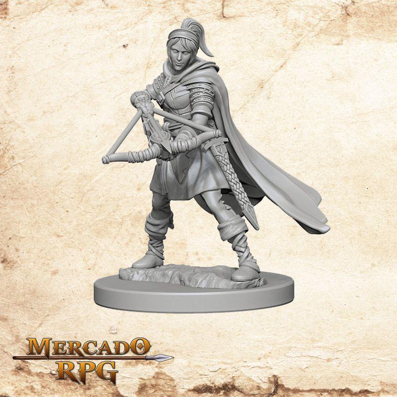 Human Female Ranger A  - Mercado RPG