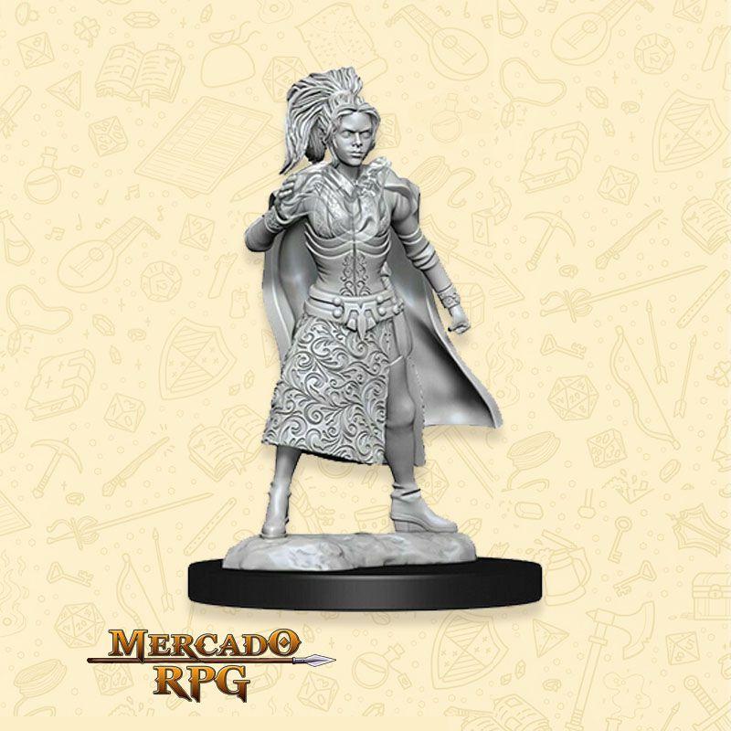 Human Female Sorcerer B - Miniatura RPG