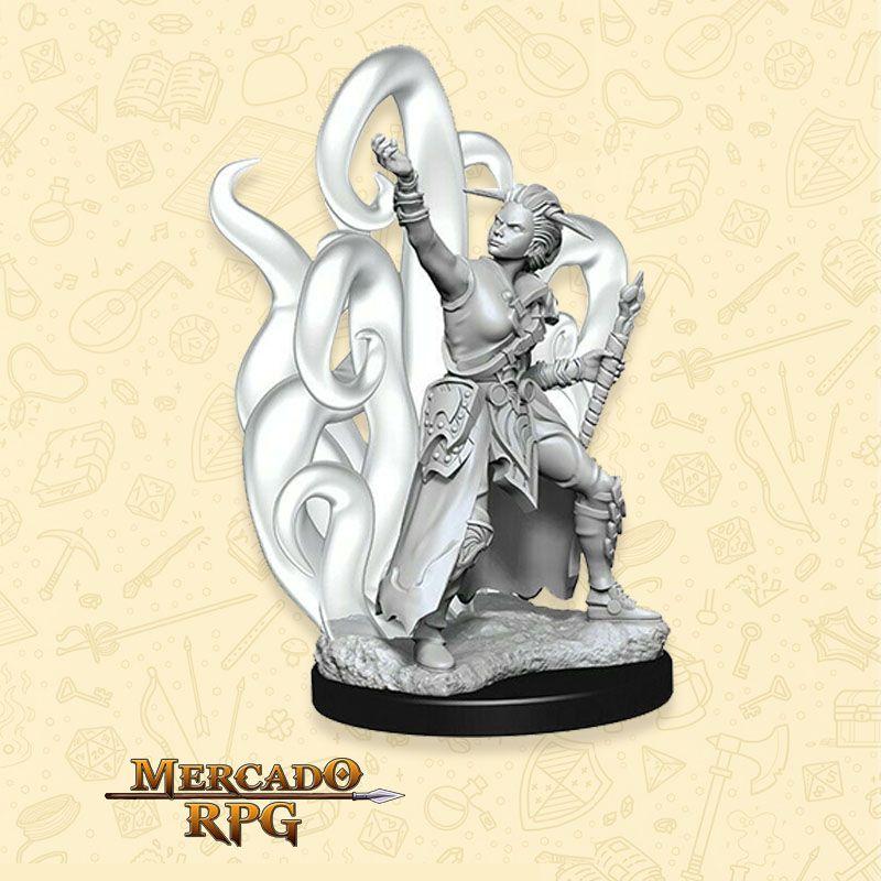 Human Female Warlock A - Miniatura RPG  - Mercado RPG