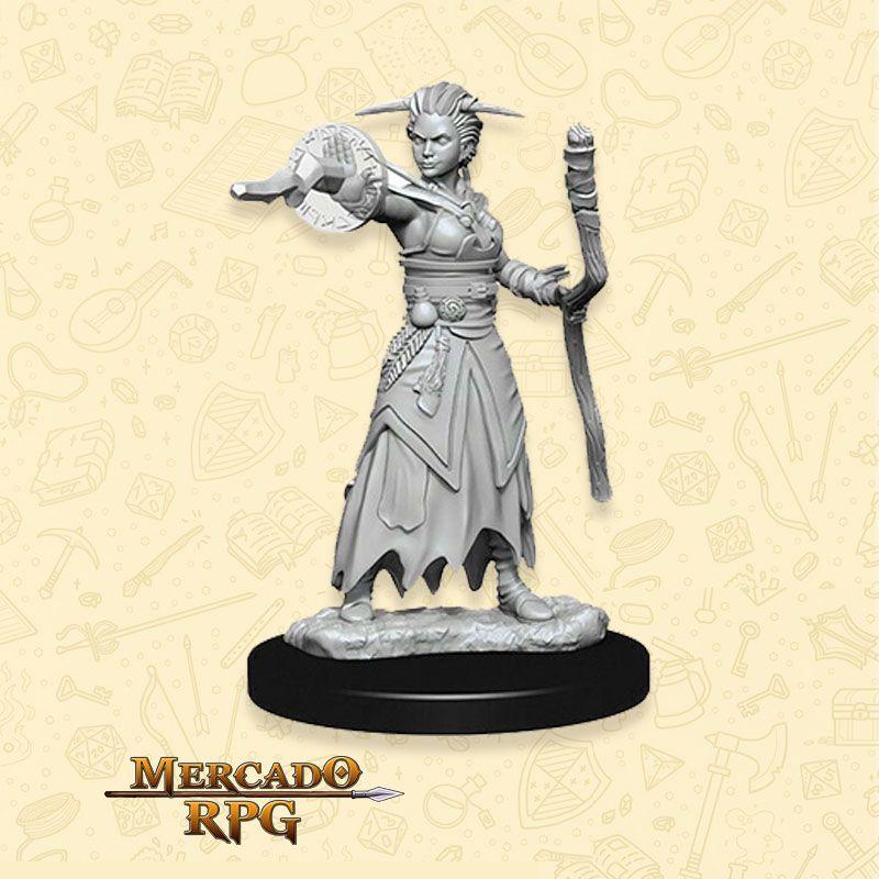 Human Female Warlock B - Miniatura RPG  - Mercado RPG