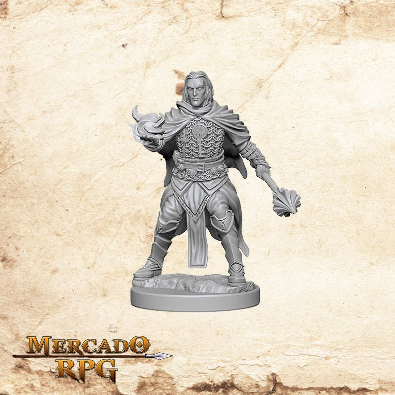 Human Male Cleric A - Miniatura RPG