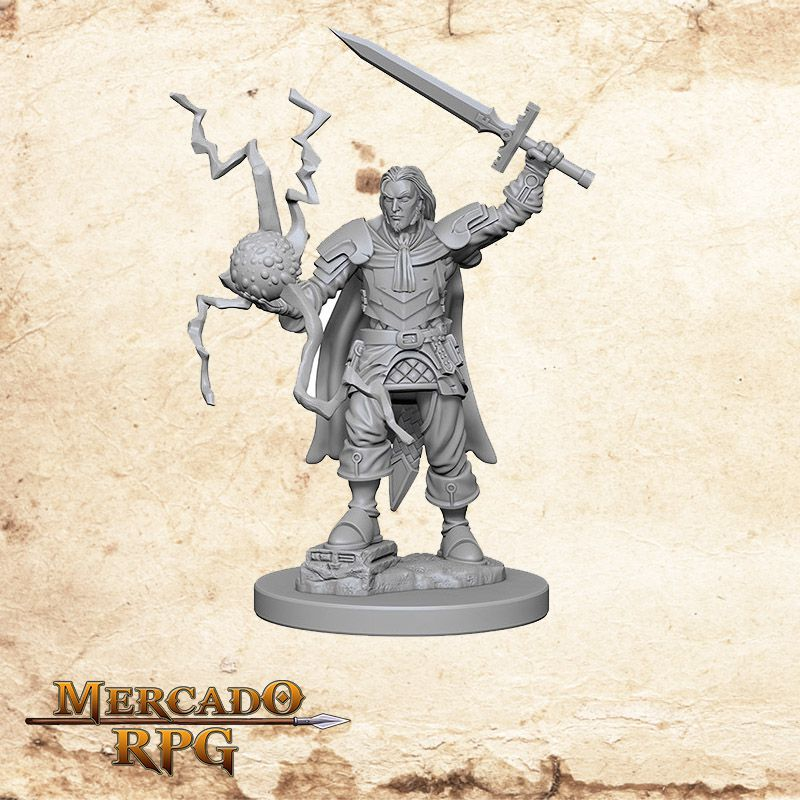 Human Male Cleric B - Miniatura RPG
