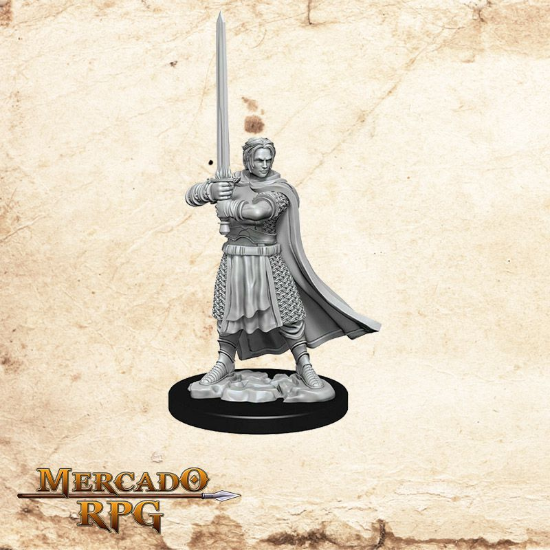 Human Male Cleric C - Miniatura RPG