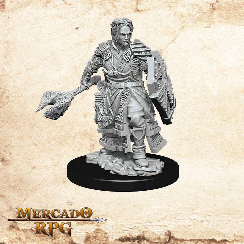 Human Male Cleric D - Miniatura RPG  - Mercado RPG