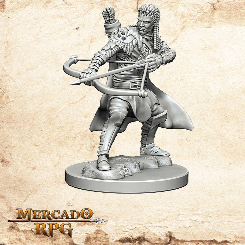 Human Male Ranger B - Miniatura RPG