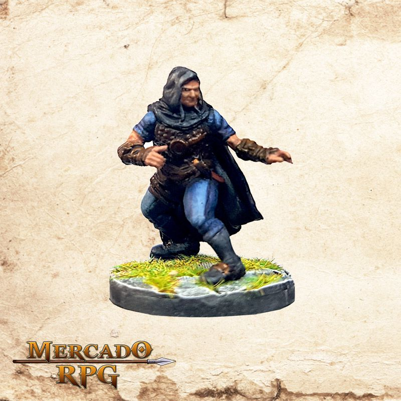 Human Male Rogue A - Wizkids Miniatures