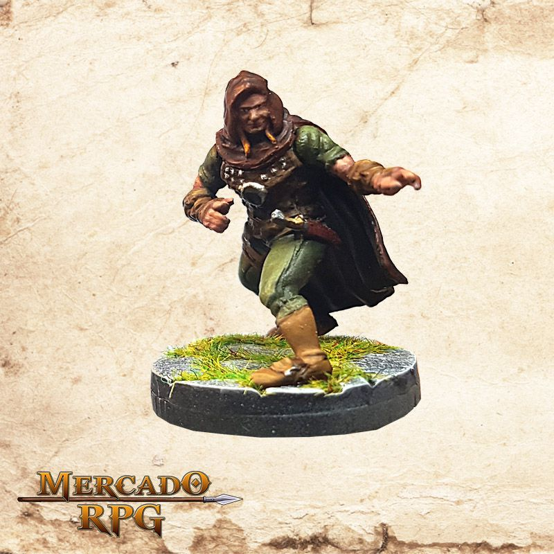 Human Male Rogue B - Wizkids Miniatures - Miniatura RPG  - Mercado RPG