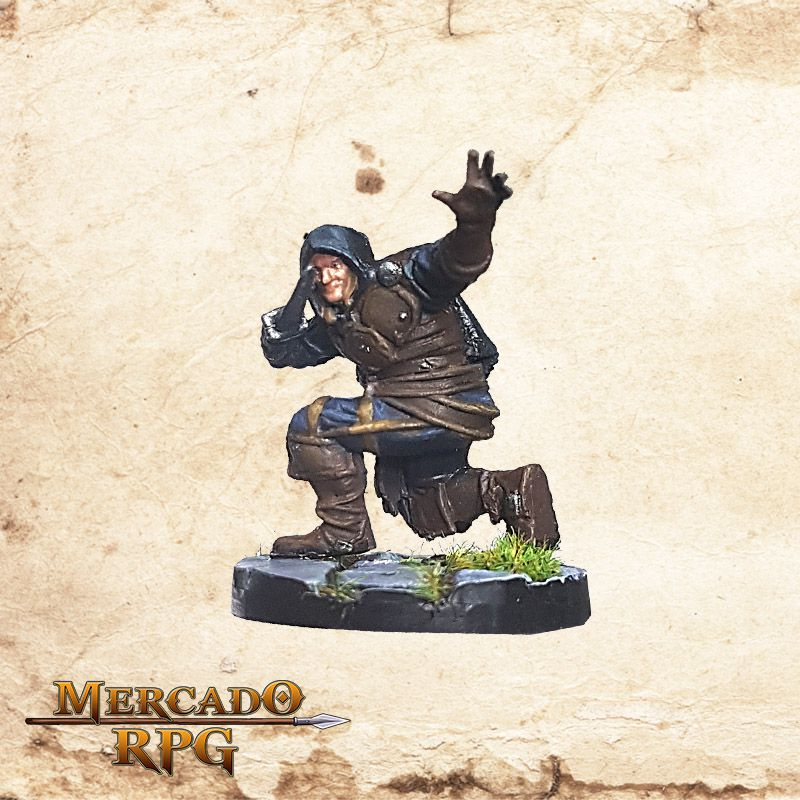 Human Male Rogue C - Wizkids Miniatures