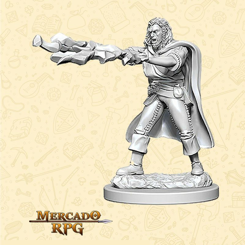 Human Male Sorcerer A - Miniatura RPG