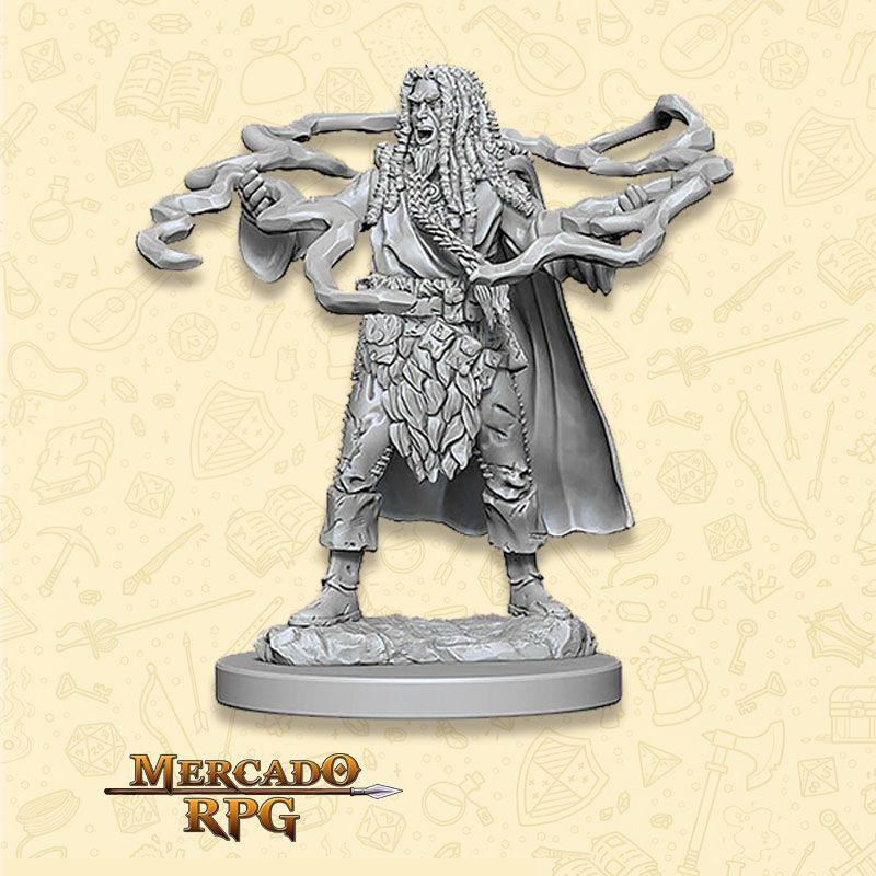 Human Male Sorcerer B - Miniatura RPG  - Mercado RPG