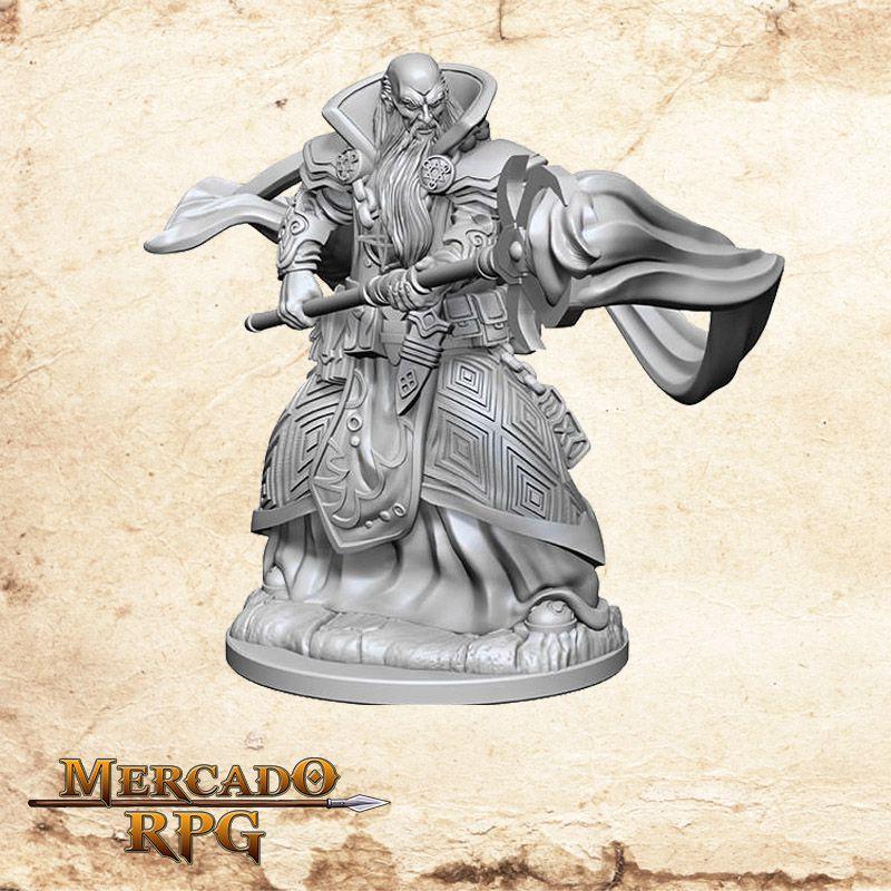 Human Male Wizard C - Miniatura RPG  - Mercado RPG
