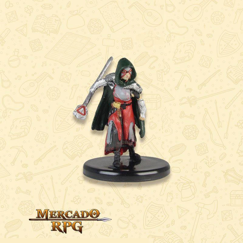 Human Warlock of the Fiend - Miniatura RPG