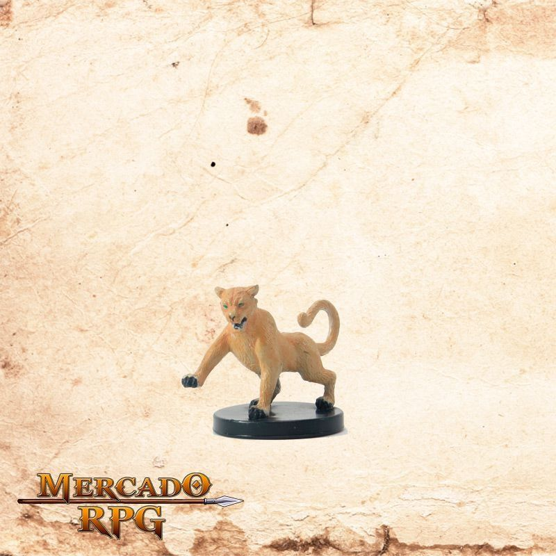 Hunting Cougar - Sem carta  - Mercado RPG