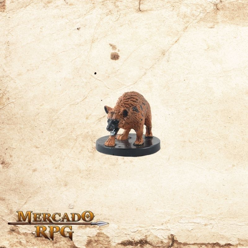 Hunting Hyena - Com carta  - Mercado RPG