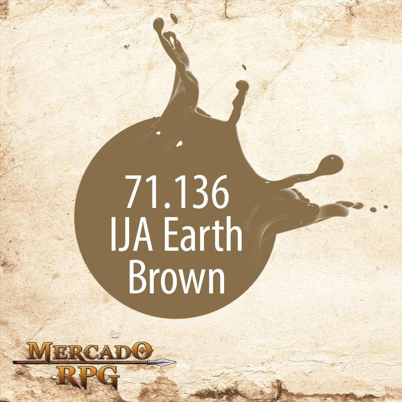 IJA Earth Brown 71.136  - Mercado RPG