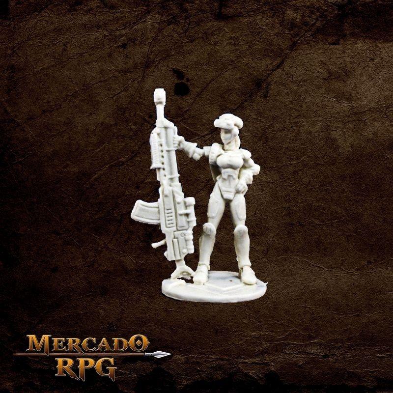 IMEF: Sarah Blitzer - Miniatura RPG  - Mercado RPG