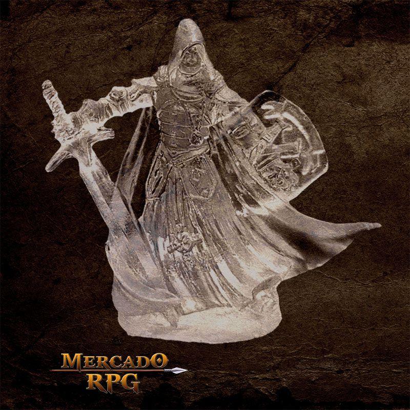 Invisible Warrior - Miniatura RPG  - Mercado RPG