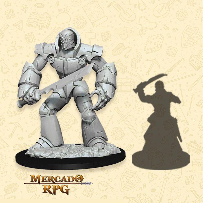 Iron Golem - Miniatura RPG  - Mercado RPG
