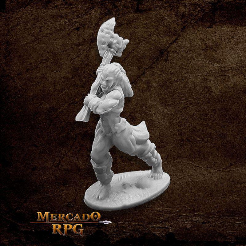 Jade Fire Champion - Miniatura RPG