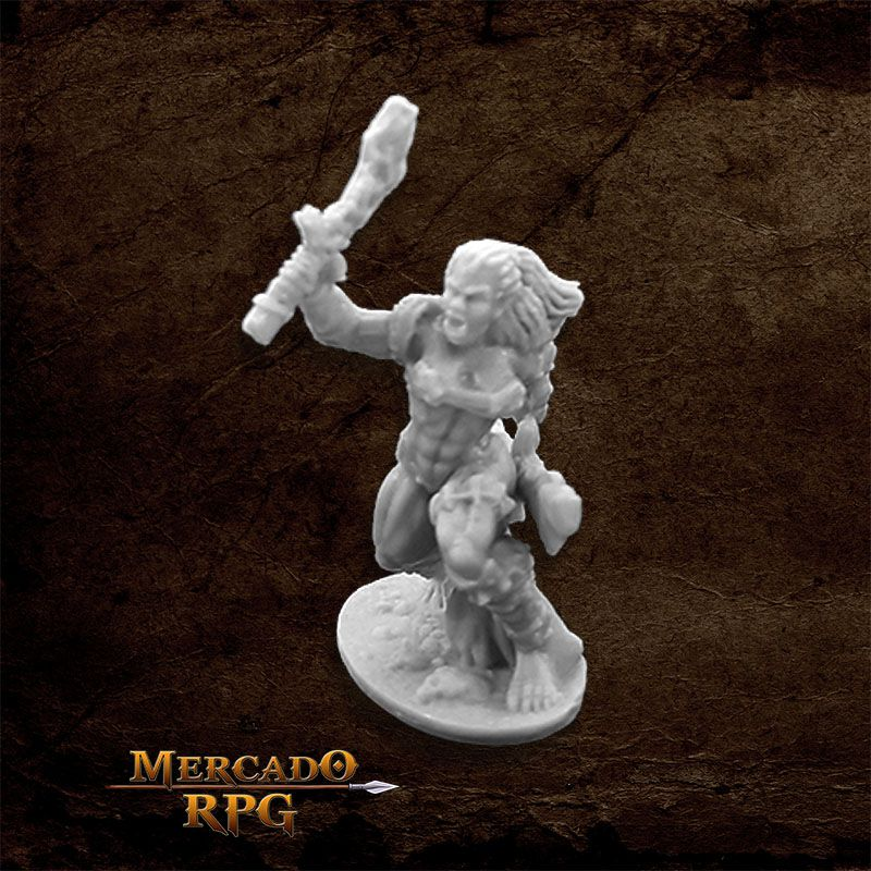 Jade Fire Warrior - Miniatura RPG  - Mercado RPG