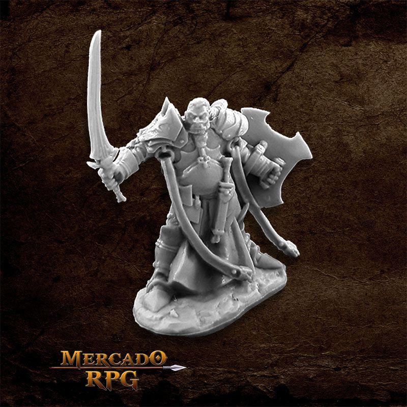Jurden, Half Orc Paladin - Miniatura RPG