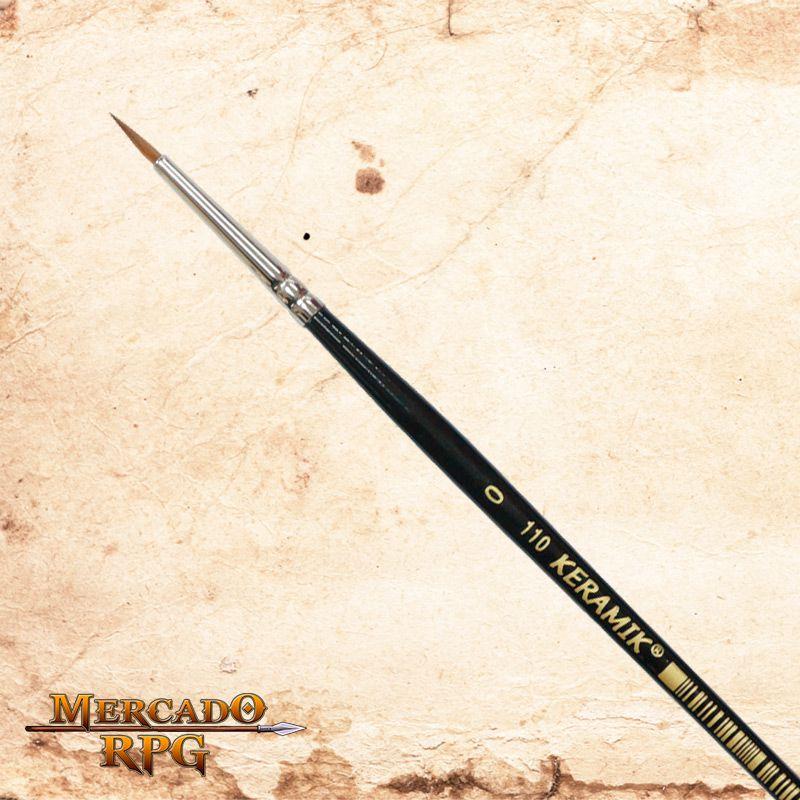 Pincel Keramik 110 - Marta Puro #3/0 - RPG  - Mercado RPG
