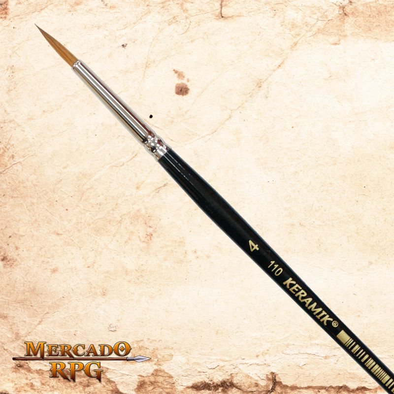 Pincel Keramik 110 - Marta Puro #4 - RPG  - Mercado RPG