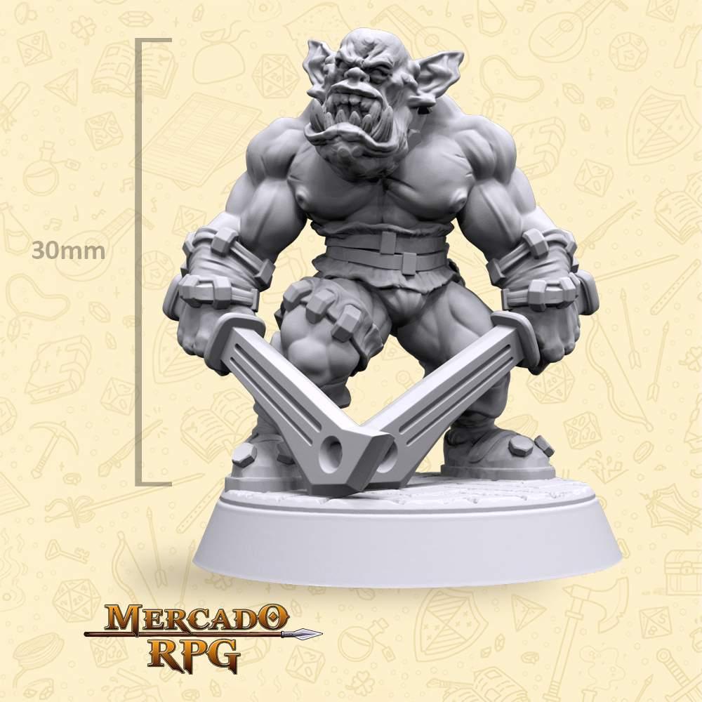 Khrosh Orc Soldier - Miniatura - RPG