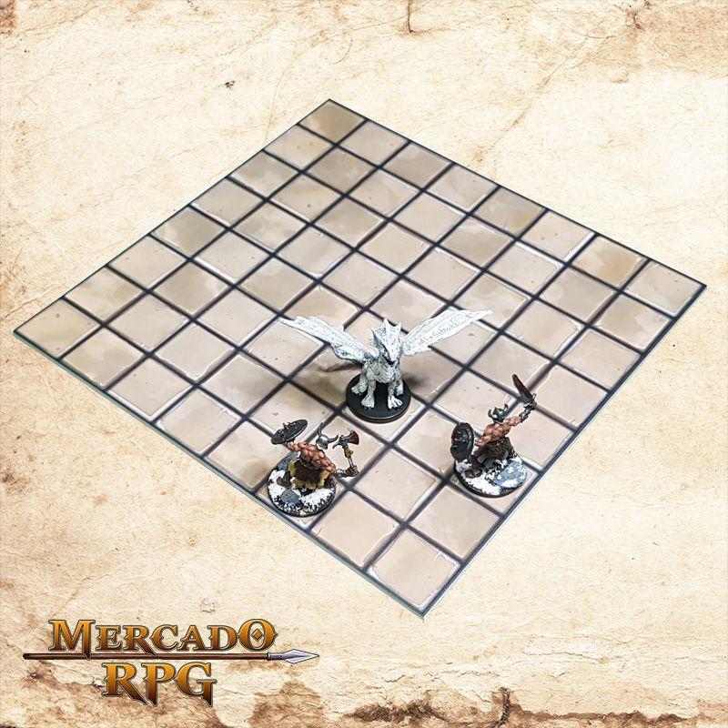 Kid de Grid Riscável E (Com Caixa / Bandeja de dados)  - Mercado RPG