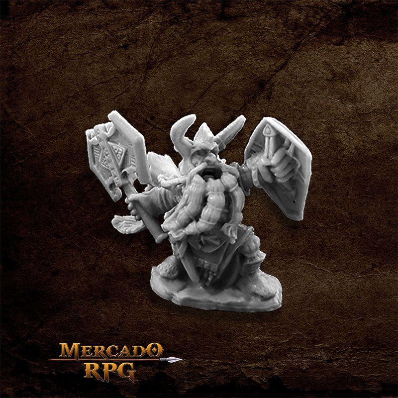 King Axehelm Of Kragmarr - Miniatura RPG  - Mercado RPG
