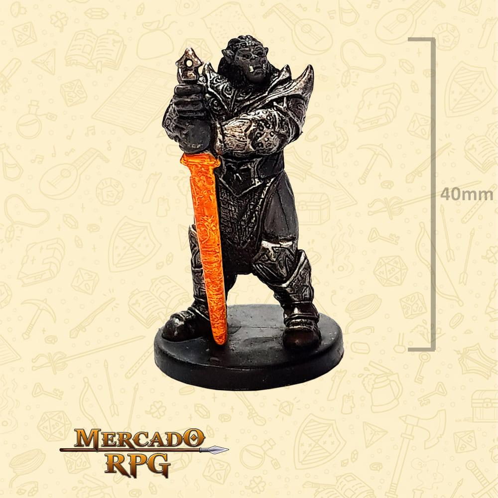King Obould Many- Arrows - Miniatura D&D - RPG