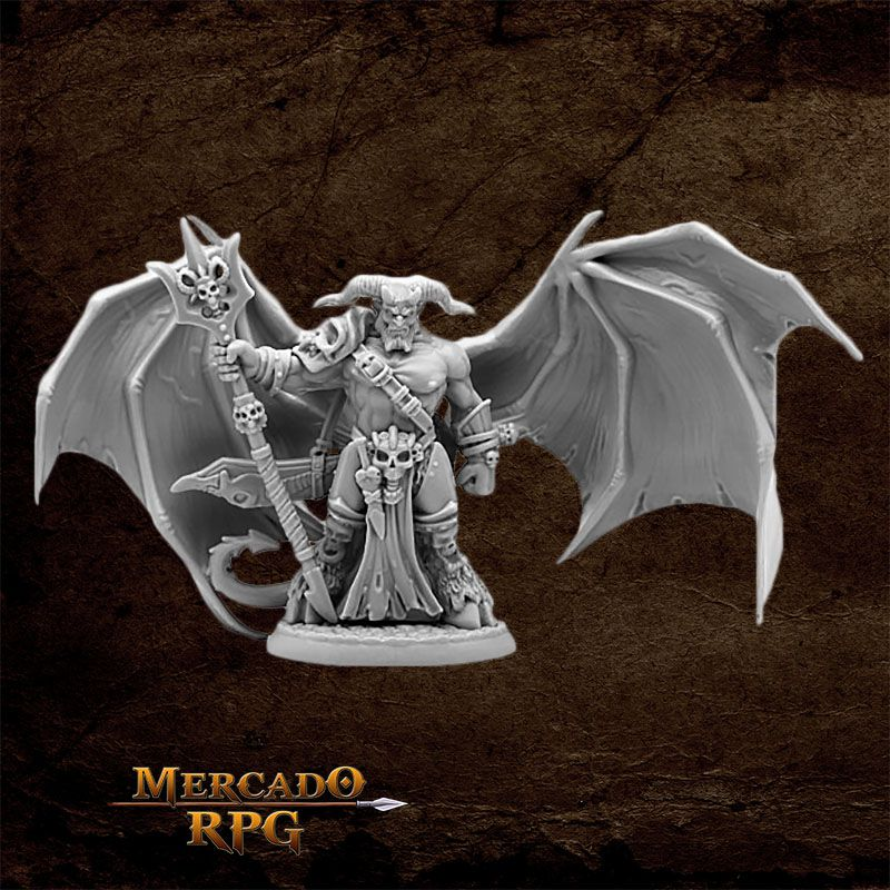 King of Hell - Miniatura RPG