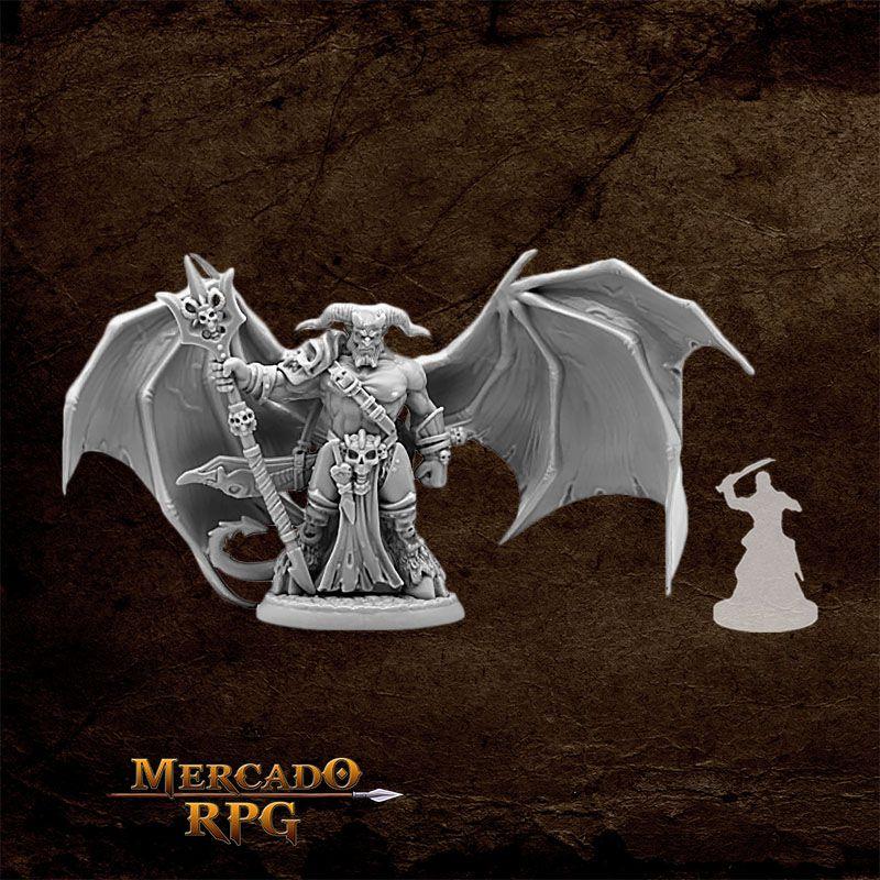 King of Hell - Miniatura RPG  - Mercado RPG