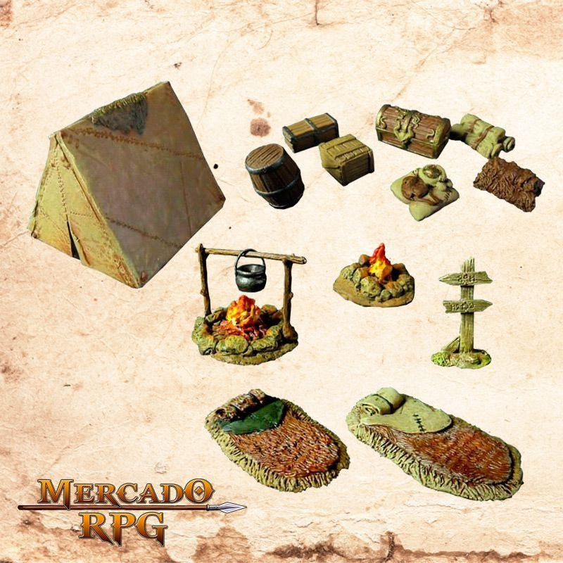 Kit Acampamento  - Mercado RPG