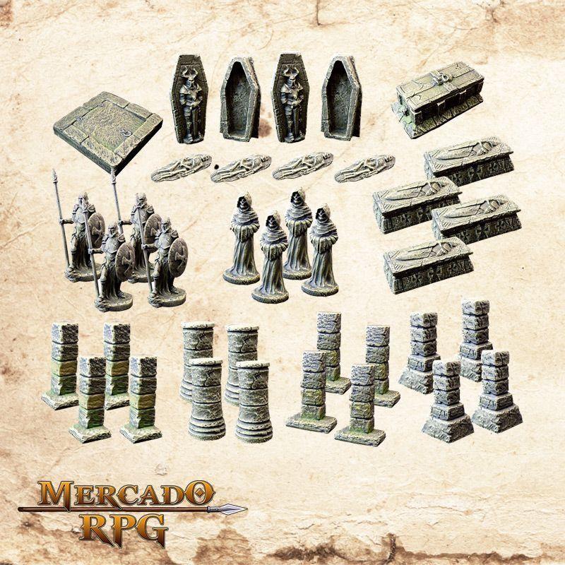 Kit Acessórios de Masmorra B  - Mercado RPG