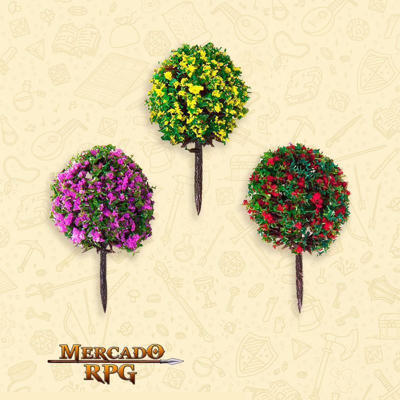Kit Árvores Coloridas - 3 Peças - RPG