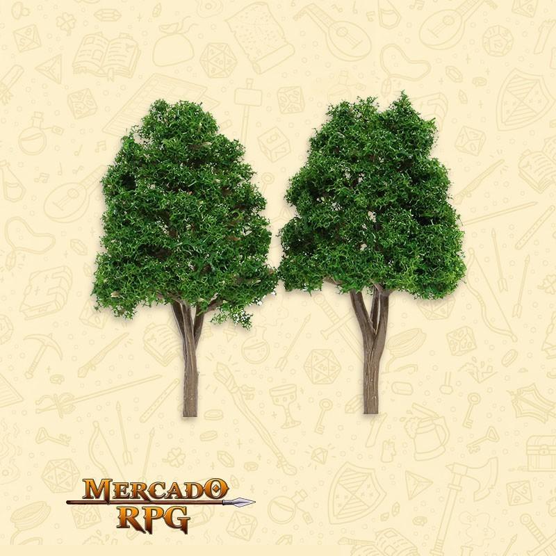 Kit Árvores - Dark Green - 2 Peças - RPG