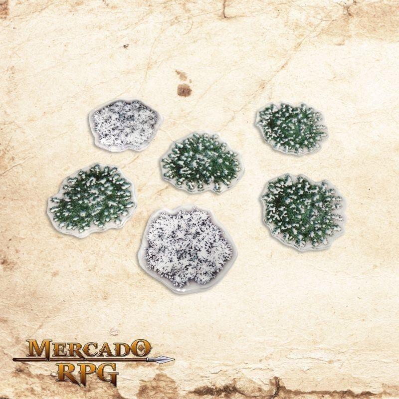 Kit árvores inverno  - Mercado RPG
