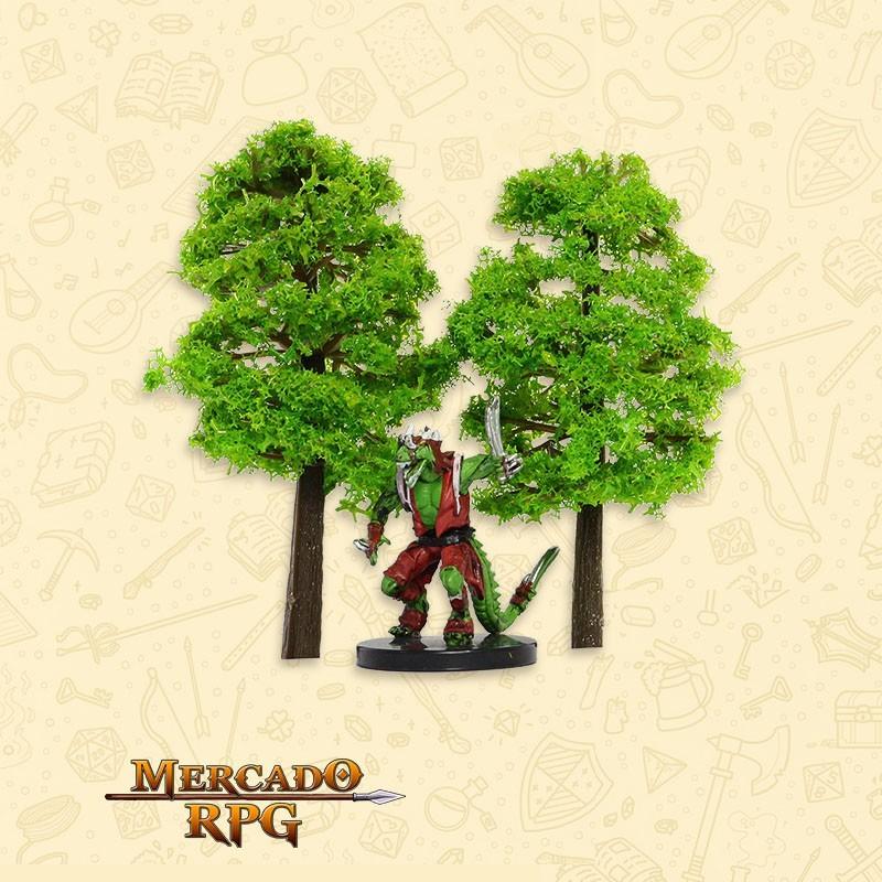 Kit Árvores - Light Green - 2 Peças - RPG  - Mercado RPG