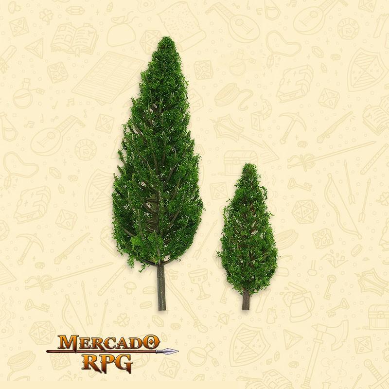 Kit Árvores - Pinheiros - 2 Peças -  RPG