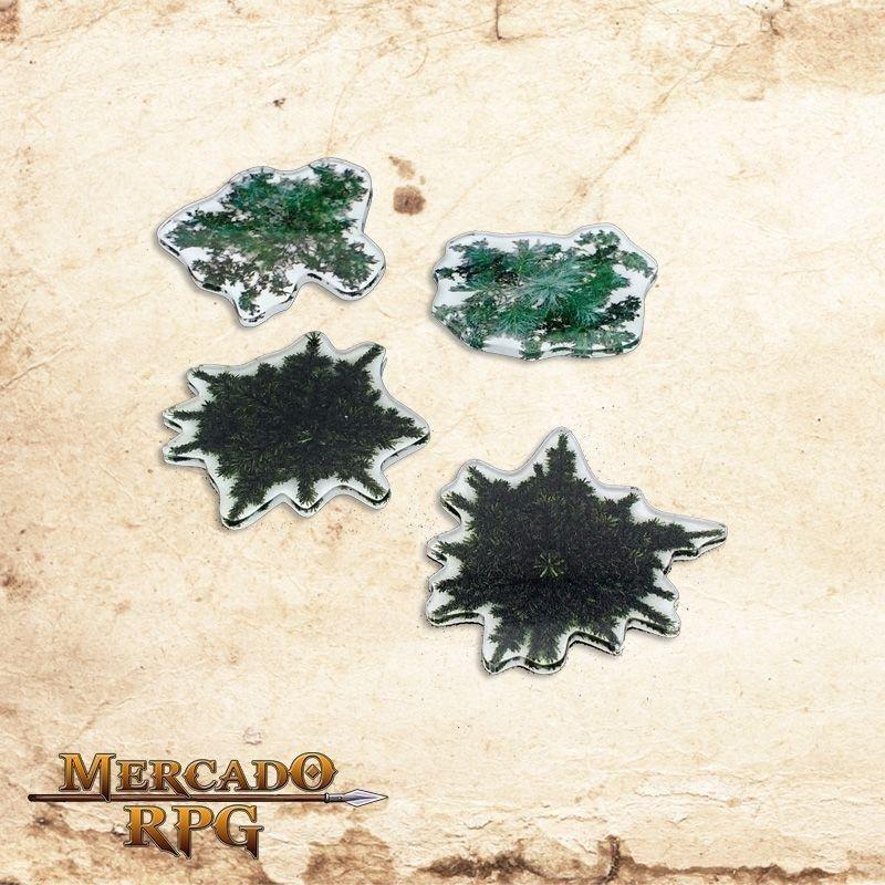 Kit árvores pinheiros  - Mercado RPG