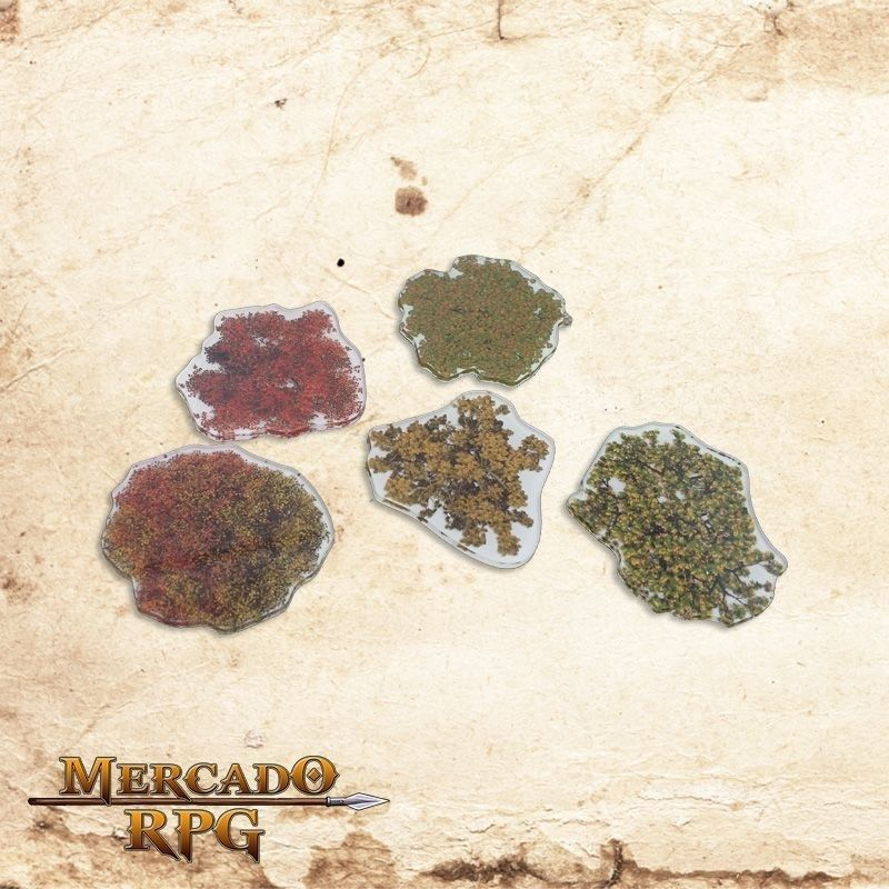 Kit árvores primavera  - Mercado RPG