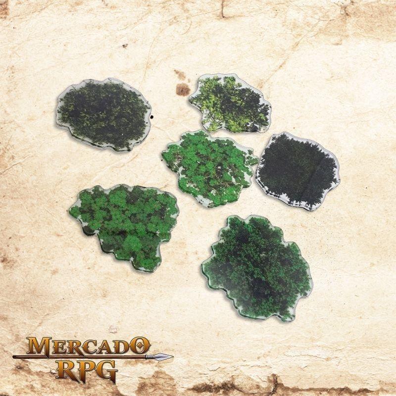 Kit árvores verão  - Mercado RPG