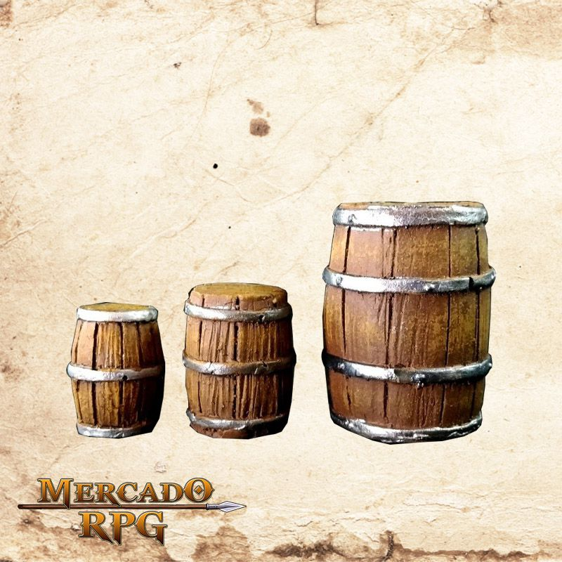 Kit Barril (3)  - Mercado RPG