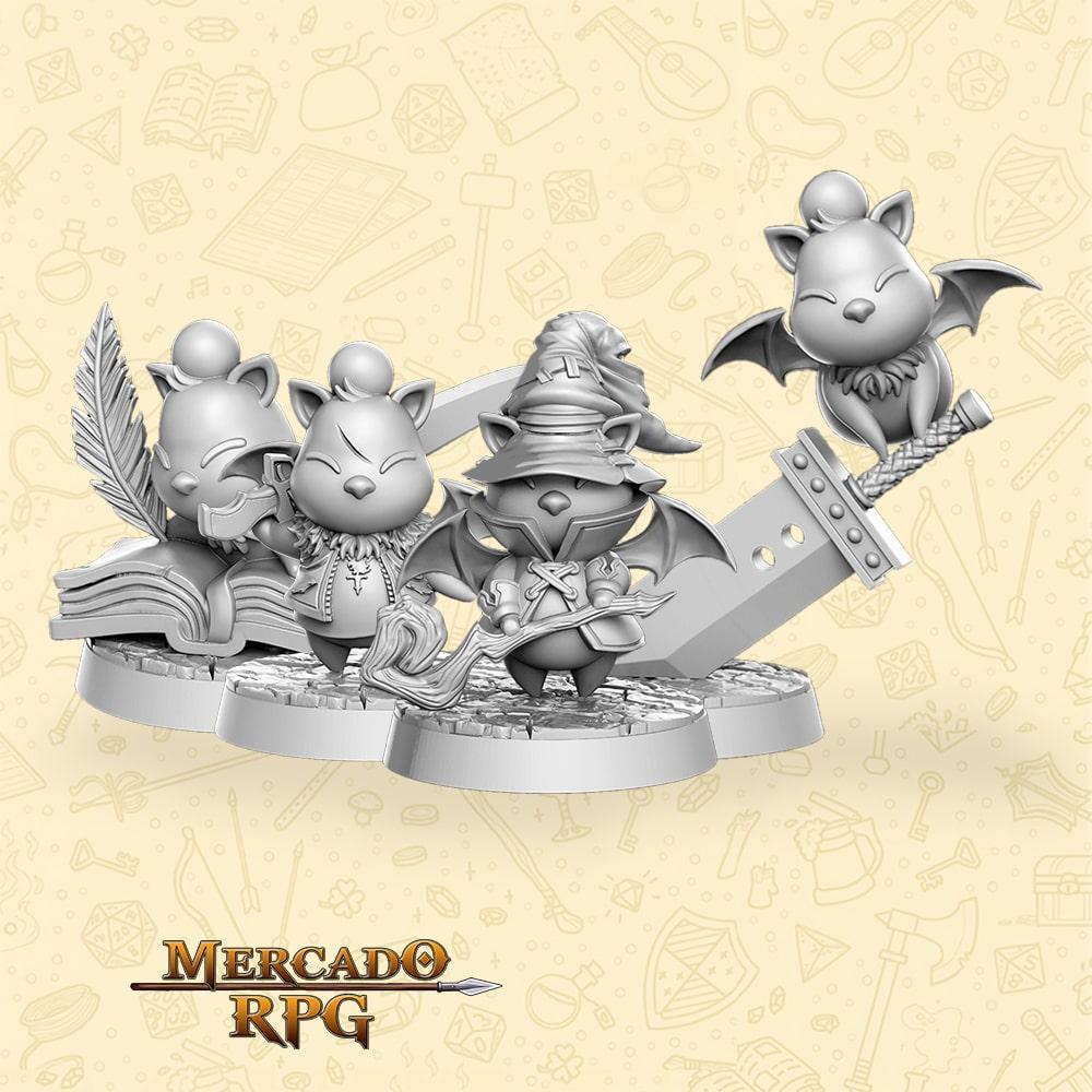 Kit Batomons's - Miniaturas para RPG