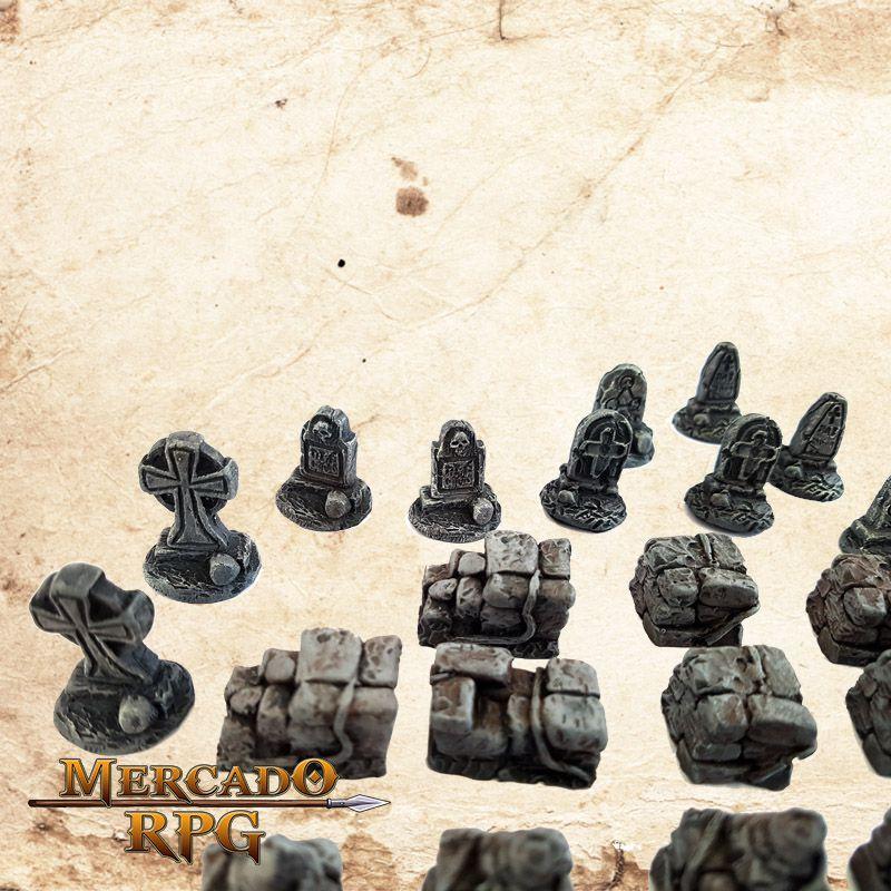 Kit Cemitério  - Mercado RPG