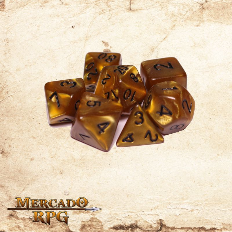 Kit Completo de dados - Mountainheart  - Mercado RPG