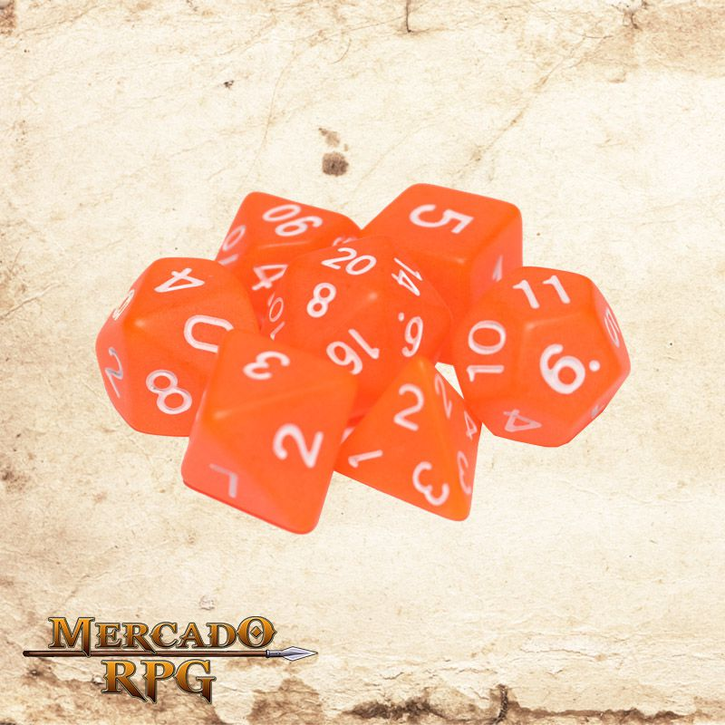 Kit Completo de dados - Forge Embers