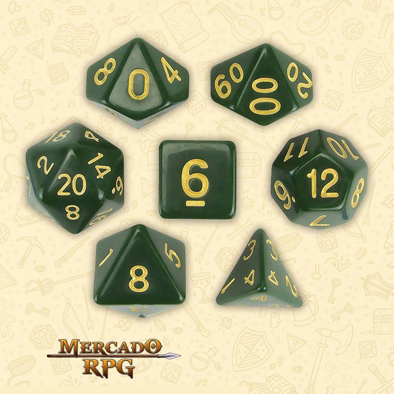 Kit Completo de Dados RPG - Blighted Grove  - Mercado RPG