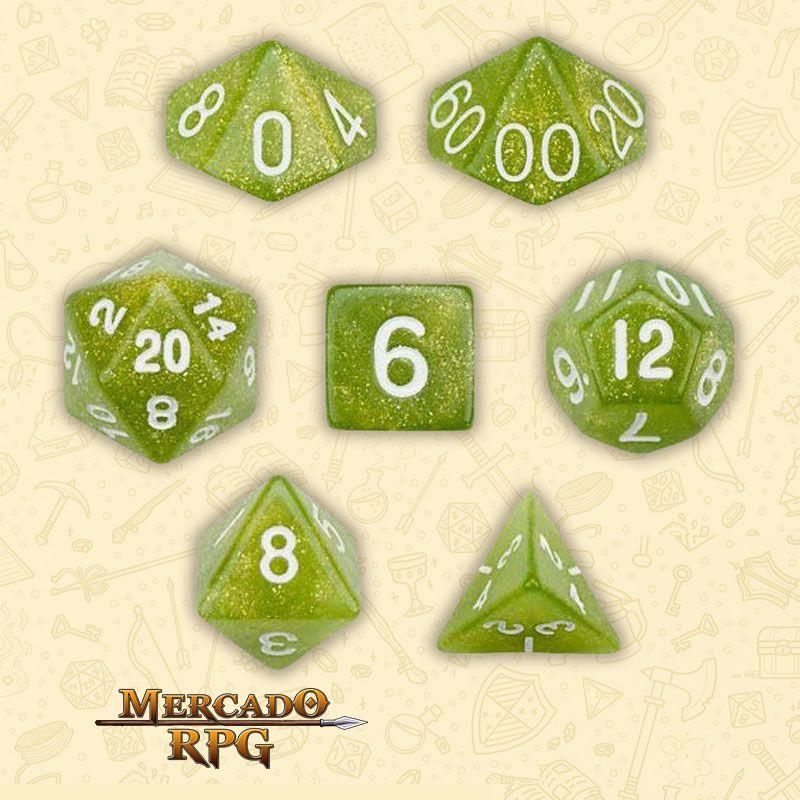 Kit Completo de Dados RPG - Serpent  - Mercado RPG